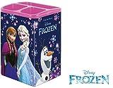 Kinder Schreibtisch Organizer - Metal Box - Stiftebox Stiftehalter - Disney Frozen - ELSA Anna Olaf