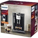 Philips-Serie-5000-EP531010-Macchina-da-Caff-Automatica-con-Macine-in-Ceramica-e-Filtro-AquaClean-Pannarello-Classico-Nero
