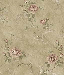 Gracie ARS26007 Rouleau de Papier peint Motif Floral Jaune