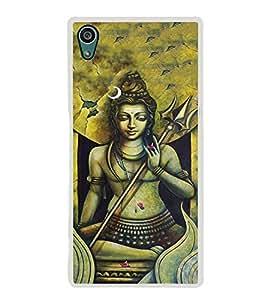 PrintVisa Lord Shri Shiv Shivay High Glossy Metal Designer Back Case Cover for Sony Xperia Z5 :: Sony Xperia Z5 Dual