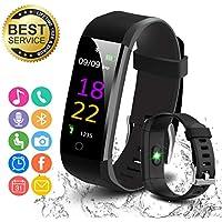 Fitness Tracker,Orologio Fitness Braccialetto Pedometro Watch Bracciale Smartwatch con Schermo a colori,Cardiofrequenzimetro Orologio Impermeabile Contapassi,Conta Calorie,per Donna Uomo Android iOS