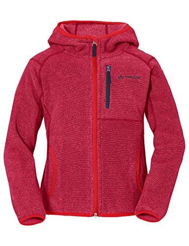 VAUDE Kinder Katmaki Fleece Jacket Jacke, rosa (crocus), 110/116 Fleece Regenjacke