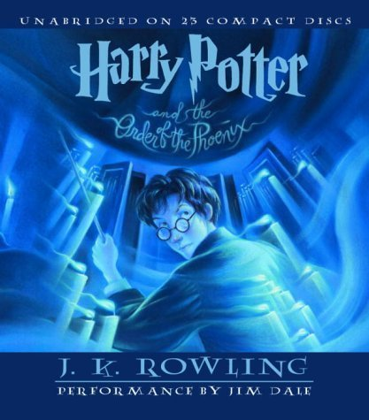 By J.K. Rowling: Harry Potter and the Order of the Phoenix (Book 5) [Audiobook]