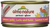 Legend  con Salmone e pollo - umido gatto 100% naturale - Megapack 6x70g lattina