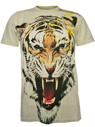 Lord Baltimore Herren Designer Shirt - Tiger -S -