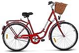 KANDS 26 Zoll LAGUNDA RETRO FAVORIT Damenfahrrad Citybike Retro Damenrad