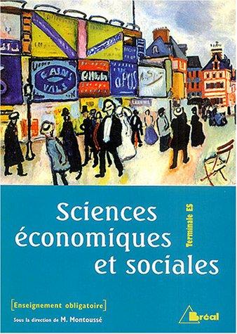 Sciences économiques et sociales Terminale ES enseignement : Enseignement obligatoire