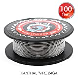 100 Feet Kanthal A1 Coils 24AWG Vapethink Resistance Wire Round