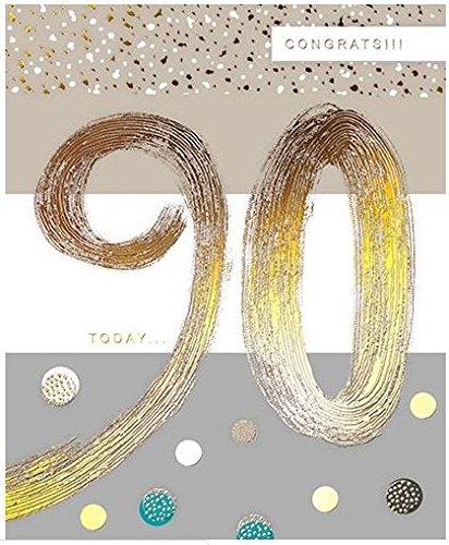 Tarjeta 90 cumpleaños GBCC-JOIJ0060 - 90 hoy - gama