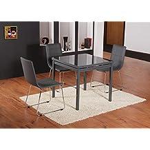 suchergebnis auf f r esstisch grau breite 160 cm. Black Bedroom Furniture Sets. Home Design Ideas