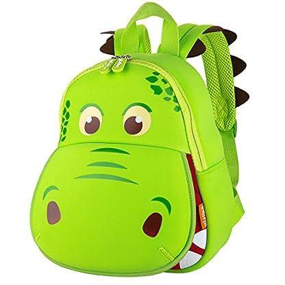 Yisibo-Kinder-Ruckscke-Kindergarten-Vorschule-Kleinkind-JungenMdchen-Rucksack-3D-Tier-Tasche-Schultaschen-Rucksack-Kind-Niedliche-Kindergarten-Rucksack-Age1-6