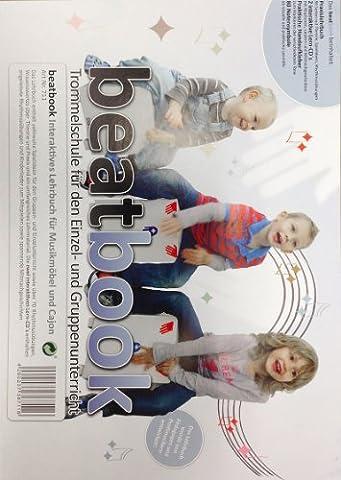baff Musikmöbel 711 Beatbook interaktives Lehrbuch mit 2 Lern-CDs und Notensymbolen für