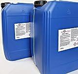 well2wellness Poolpflege Kombi - 2 x 25 kg Chlor flüssig stabilisiert Plus 2 x 25 kg pH-Senker flüssig