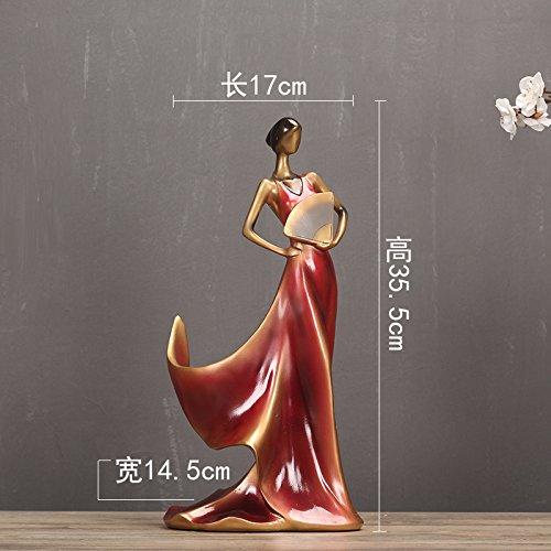 WDDqzf Dekoration Statuen Modernes Minimalistisches Kreatives Weinregal-Hotelmodellwohnzimmerwohnzimmerausgangsweinkabinettdekoration Nordische Weinflaschenhalterverzierung, Rotweinfächer