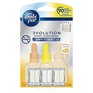 Ambi Pur 3Volution Nachfüllflakons Antitabak für elektrischen Duftzerstäuber–21ml