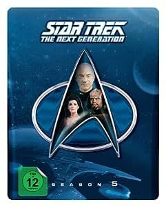Star Trek: The Next Generation - Season 5 (Steelbook, exklusiv bei Amazon.de) [Blu-ray] [Limited Collector's Edition] [Limited Edition]