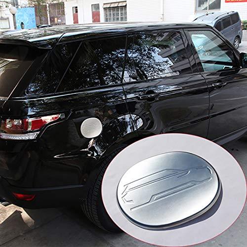 Cache-bouchon de réservoir de carburant ABS chromé mat pour voiture et pièces 1 pièce pour le sport 2014-2017