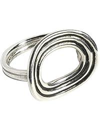 Pamela Love Sterling Silver Saturn Ring - Size N