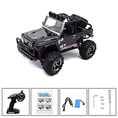 KELIWOW 1/12 4WD Electric RC Car 2.4Ghz Offroad Dune Buggy RTR