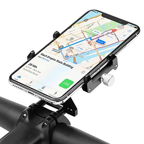 GUB Universal Bike Lenkervorbau Fahrrad Halterung für Handy, Smartphone, Navi usw. mit Halter für GoPro, ActionCams.