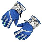 Futurepast Ski Kinderhandschuhe, Finger-Handschuh für Kinder, Wasserbeständig, Winddicht Handschuhe, Winterhandschuhe für Outdoor Sport by