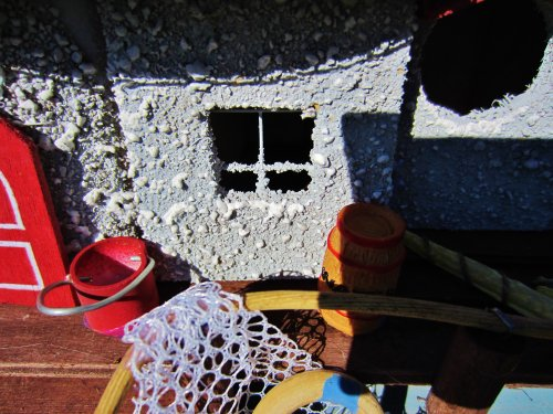 Hüwüknü Vogelhaus `Fishing Dock`