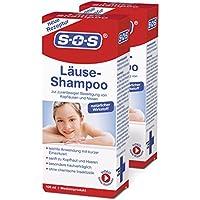 Preisvergleich für SOS Läuse-Shampoo (2er Pack) - befreit zuverlässig von Kopfläusen und Nissen