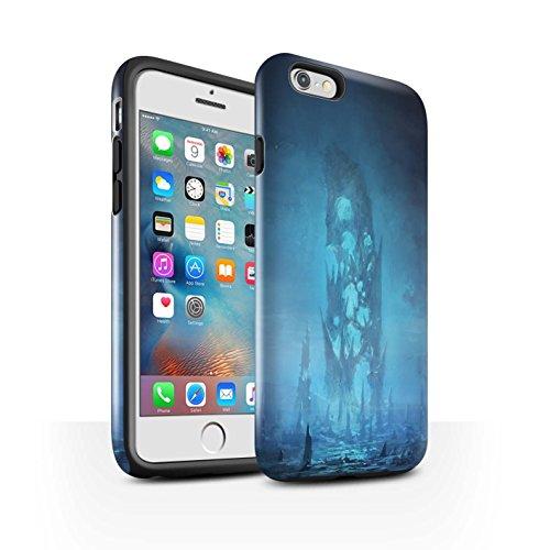 Offiziell Chris Cold Hülle / Glanz Harten Stoßfest Case für Apple iPhone 6S+/Plus / Pack 12pcs Muster / Fremden Welt Kosmos Kollektion Rest