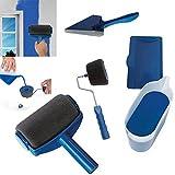 Paint Runner Pro Roller Pinsel Griff Werkzeug beflockte Kantenschneider, Büro Raum Wandbild Zuhause Garten Werkzeug Roller Pinsel-Set
