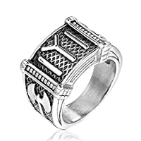 Fashion Ring for Men, Size 10 US