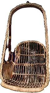 Full comfort Wooden swing hanging chair
