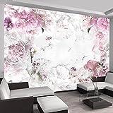 murando - Fototapete 400x280 cm - Vlies Tapete - Moderne Wanddeko - Design Tapete - Wandtapete - Wand Dekoration - Blumen b-A-0152-a-d