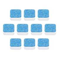 quanju cheer 5/10/20Pcs Washing Machine Tub Bomb Cleaner Washer Detergent Effervescent Tablet Household Cleaning Tool - 10pcs