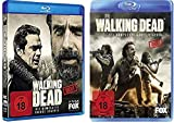 The Walking Dead - Staffel 7+8 (+ Walking Dead Tasse) [Blu-ray]
