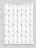 Soefipok Collection Arrow Decor, Motif de Lignes géométriques Hipster Monochrome avec flèches Vintage, Impression d'image, tenture Murale de Chambre à Coucher Salon dortoir