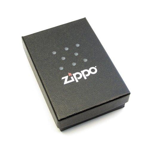 """Zippo Satiniert ; Benzinfeuerzeug mit Gravur """"Ich liebe Dich"""" + Herz / Herzchen + kostenlose Gravur auf der Rückseite"""