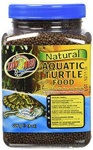 Zoo Med Natural Aquatic Turtle Food 226g, Aufzuchtfutter für Wasserschildkröten -