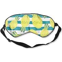 Comfortable Sleep Eyes Masks Stripes Pineapple Pattern Sleeping Mask For Travelling, Night Noon Nap, Mediation... preisvergleich bei billige-tabletten.eu