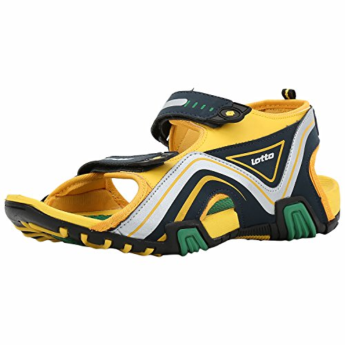 202e0e19b Lotto 8903828096830 Mens Dazzel Green And Yellow Sandals Uk In 9- Price in  India