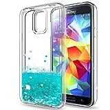 Coque Samsung Galaxy S5 Liquide Paillette Etui avec Film de protection...