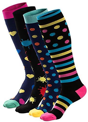 ZAKASA Compression Socks Men Women 20-30 mmHg Athletic