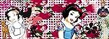 Fototapete Schneewittchen Blumen Collage - Größe 73 x 202 cm, 1-teilig
