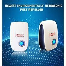 DIKETE® Ultrasuoni Repeller - elettronica plug-in repellente - Ideale in ratti, topi, formiche, scarafaggi, ragni, zanzare Sicuro- Non Tossico- Sicuro per gli animali domestici e per l'ambiente