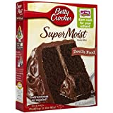 Betty Crocker Super Moist Devil's Food Cake Mix - 432 gr