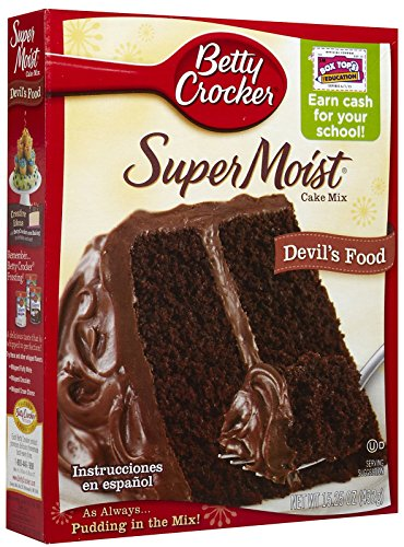 Betty Crocker Super Moist Devil\'s Food Cake Mix 432g