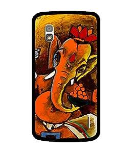 Chnno 2d GANESHA Printed Back Cover For LG Nexus 4 E960