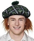 Boland 81227Béret Mr Tartan avec cheveux, Costume, One Size