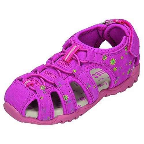 Greenies 160322 sandales pour enfant Rouge - fandango