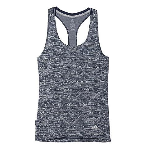 adidas Damen T-shirt SN Fitted TNK W, Grau, L, 4056561404890