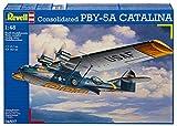 Revell Modellbausatz Flugzeug 1:48 - Consolidated PBY-5A CATALINA im Maßstab 1:48, Level 5, originalgetreue Nachbildung mit vielen Details, 04507